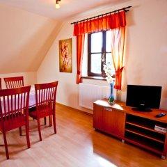 Отель ApartmÁny Vidim Кропачова-Врутице комната для гостей