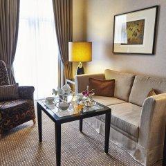 Отель Steigenberger Frankfurter Hof 5* Улучшенный номер с различными типами кроватей фото 6