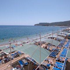 Отель Crystal Kemer Deluxe Resort And Spa Кемер пляж фото 2