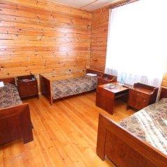 Гостевой Дом Олимпия Стандартный семейный номер с двуспальной кроватью