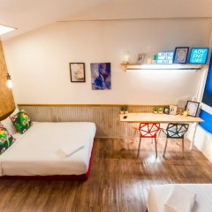Отель Glur Bangkok Люкс повышенной комфортности разные типы кроватей фото 8