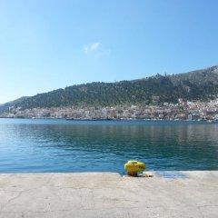 Отель Pizania Греция, Калимнос - отзывы, цены и фото номеров - забронировать отель Pizania онлайн пляж фото 2