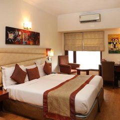 Отель Ahuja Residency Sunder Nagar 3* Номер Делюкс с различными типами кроватей