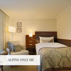 Отель Mont Cervin Palace 5* Стандартный номер с различными типами кроватей фото 3