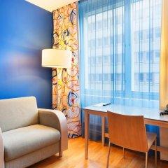 Отель Cumulus Hakaniemi 3* Стандартный семейный номер с двуспальной кроватью фото 3