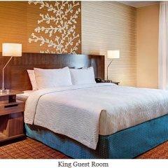 Отель Fairfield Inn & Suites by Marriott Columbus Dublin 2* Стандартный номер с различными типами кроватей фото 2