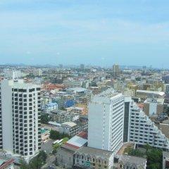 Отель Centric Sea Pattaya Апартаменты с различными типами кроватей фото 43