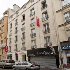 Отель Hipotel Paris Pere-Lachaise Republique 3* Стандартный номер с двуспальной кроватью фото 3
