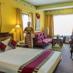 Отель Tibet Непал, Катманду - отзывы, цены и фото номеров - забронировать отель Tibet онлайн комната для гостей фото 2
