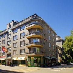 Sheraton Zürich Neues Schloss Hotel 4* Стандартный номер с различными типами кроватей фото 3