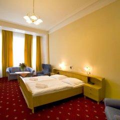Hotel Palacký 3* Стандартный номер с двуспальной кроватью фото 9
