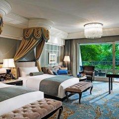 Отель InterContinental Chengdu Global Center Улучшенный номер с различными типами кроватей фото 4