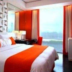 Отель The Bayleaf Intramuros 3* Номер Делюкс с различными типами кроватей фото 4