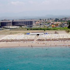 Sunmelia Beach Resort Hotel & Spa Турция, Чолакли - 3 отзыва об отеле, цены и фото номеров - забронировать отель Sunmelia Beach Resort Hotel & Spa - All Inclusive онлайн пляж фото 5