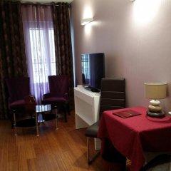 Отель Hôtel Paris Gambetta 3* Улучшенная студия с различными типами кроватей фото 8