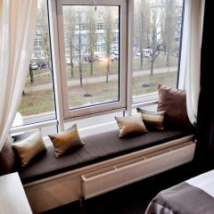 Гостиница Амбассадор Плаза 4* Стандартный номер с различными типами кроватей фото 7