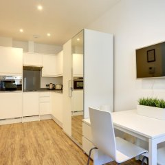 Апартаменты Linton Apartments Студия Делюкс с различными типами кроватей фото 4