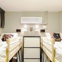 I-Sleep Silom Hostel Семейный номер категории Эконом с двуспальной кроватью