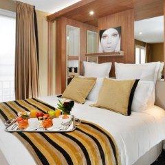 Отель Best Western Le 18 Paris 4* Стандартный номер разные типы кроватей фото 7