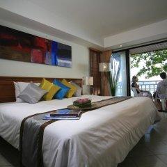 Отель Sunset Beach Resort 4* Номер Делюкс с двуспальной кроватью фото 8
