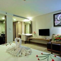 Отель Mercure Koh Samui Beach Resort 4* Улучшенный номер с различными типами кроватей фото 9