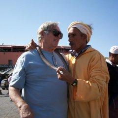 Отель Riad Atlas Toyours Марокко, Марракеш - отзывы, цены и фото номеров - забронировать отель Riad Atlas Toyours онлайн приотельная территория фото 2