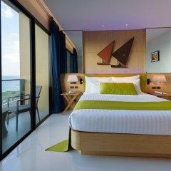 Отель Deep Blue Z10 Pattaya Стандартный номер с различными типами кроватей фото 25