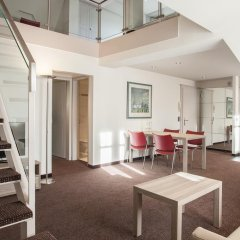 Апартаменты Ema House Serviced Apartments, Superior Standard, Unterstrass Цюрих комната для гостей