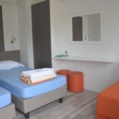 Отель Camping Village Roma Бунгало Делюкс с различными типами кроватей