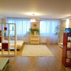 Апартаменты Apartment Red and White Студия с различными типами кроватей фото 22