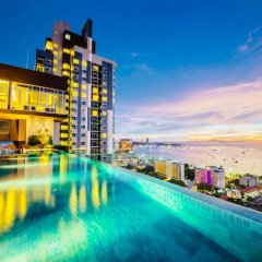 Отель Centric Sea Pattaya by Skyren бассейн фото 3