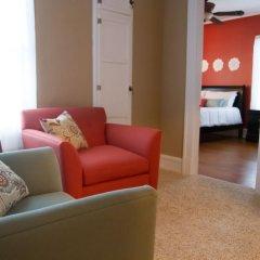 Отель Hawthorne Park Bed and Breakfast 3* Люкс с различными типами кроватей фото 11
