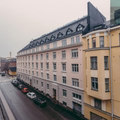Отель 4pillowsapartments Kalevankatu балкон