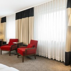Hotel NH Düsseldorf City Nord 4* Улучшенный номер разные типы кроватей