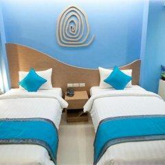 SF Biz Hotel 3* Номер Делюкс с различными типами кроватей фото 12