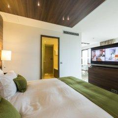 Отель Meliá Düsseldorf 4* Люкс разные типы кроватей фото 4