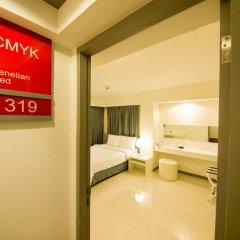 Отель Myhotel Cmyk@Ratchada 3* Номер Делюкс с различными типами кроватей фото 2
