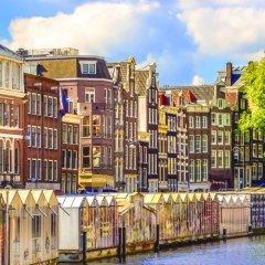 Отель NH Amsterdam Caransa Нидерланды, Амстердам - 1 отзыв об отеле, цены и фото номеров - забронировать отель NH Amsterdam Caransa онлайн приотельная территория фото 2