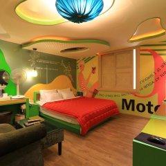 Haeundae Grimm Hotel 2* Номер Делюкс с различными типами кроватей фото 41