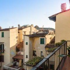 Отель Kursaal & Ausonia Италия, Флоренция - 5 отзывов об отеле, цены и фото номеров - забронировать отель Kursaal & Ausonia онлайн балкон