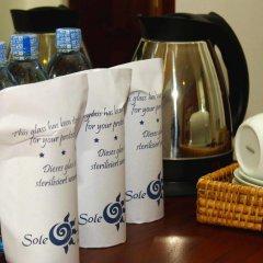 Отель Sole Luna Resort & Spa 3* Номер Делюкс с различными типами кроватей фото 13