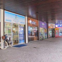 Отель Apt barramares 2 quartos vista mar спортивное сооружение