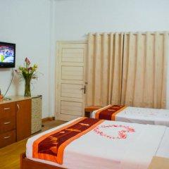 Hanoi Little Center Hotel 3* Номер Делюкс двуспальная кровать фото 3