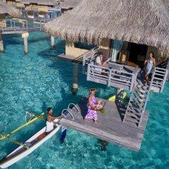 Отель InterContinental Le Moana Resort Bora Bora 4* Бунгало с различными типами кроватей