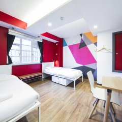 Отель Generator London Стандартный номер с 2 отдельными кроватями (общая ванная комната) фото 3