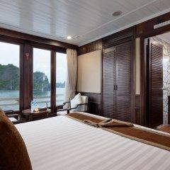 Отель Pelican Halong Cruise 4* Номер Делюкс с различными типами кроватей фото 5