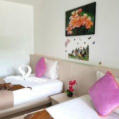 Phuthara Hostel Номер Делюкс с 2 отдельными кроватями фото 10