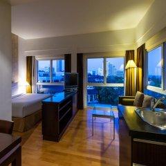 Апартаменты RCG Suites Pattaya Serviced Apartment Студия с различными типами кроватей фото 10