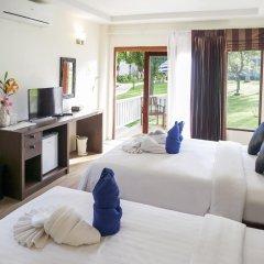 Отель Soontreeya Lanta 3* Улучшенное бунгало с различными типами кроватей фото 2