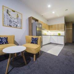 Апартаменты Mosquito Silesia Apartments Катовице комната для гостей фото 3